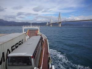 Πάτρα: Δειλινό στον Πατραϊκό με φόντο τα ferry boat - Δείτε video
