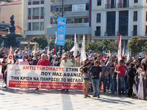 Πάτρα: Προχωρά σε συλλαλητήριο το ΠΑΜΕ στην πλατεία Γεωργίου