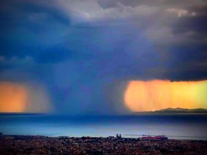 Timelapse βίντεο από καταιγίδα που