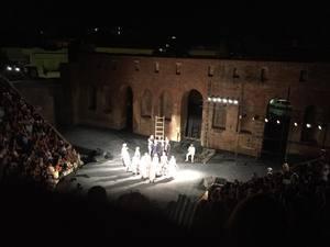 Αποθεώθηκε το «Επτά επί Θήβας» στο Ρωμαϊκό Ωδείο της Πάτρας (pics+video)