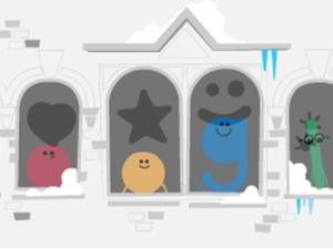 Με ένα εορταστικό doodle, η Google εύχεται σε όλο τον κόσμο καλά Χριστούγεννα!