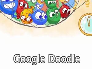 Η Google μετρά αντίστροφα τον χρόνο για την έλευση του 2017 με ένα Doodle! (pics+video)