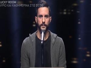 'Γκρέμισε' τον τοίχο του Rising Star, o Γιάννης Μητσόπουλος από την Ναύπακτο (video)