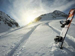 Snowboard και skibike στο Χιονοδρομικό Κέντρο Καλαβρύτων - Δείτε βίντεο