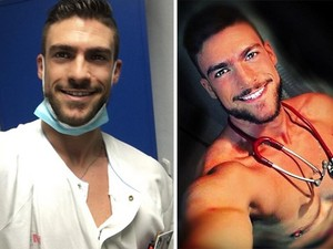 Ο πιο σέξι νοσοκόμος εργάζεται στη Μαδρίτη (pics)