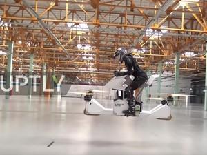 Η πρώτη ιπτάμενη «μοτοσυκλέτα» είναι γεγονός (video)
