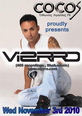 """Cocos Proudly Presents """"Vierro"""""""