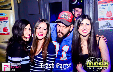 Double Trash Night στο Mods Club 25-02-15 Part 1/2