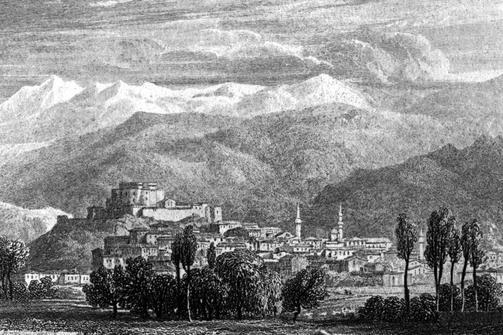 Το Κάστρο της Πάτρας εν έτη 1829