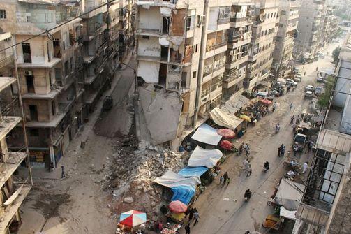 Συνεχίζονται οι μάχες στο Χαλέπι