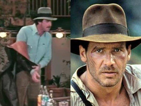 Ο ρόλος του Ιντιάνα Τζόουνς προσφέρθηκε στον Τομ Σέλεκ, αλλά αρνήθηκε εξαιτίας του προγράμματος των γυρισμάτων για τη σειρά «Magnum P.I.». Τελικά το ρόλο πήρε ο Χάρισον Φορντ.