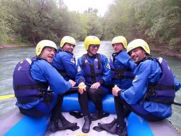 Πατρινοί πήγαν για rafting στον ποταμό Εύηνο (pics)