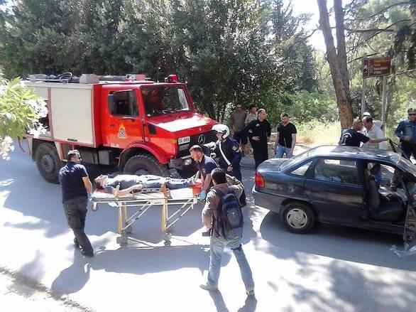 Πάτρα: Σφοδρή σύγκρουση αυτοκινήτων στο Δασύλλιο (pic)