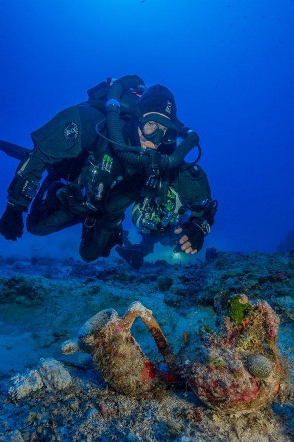 Η έρευνα για την φετινή περίοδο στο ναυάγιο των Αντικυθήρων ολοκληρώθηκε - Δείτε εικόνες