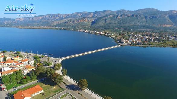 Το drone πήγε βόλτα απέναντι - Aerial shooting από το Μεσολόγγι και το Αιτωλικό (pics+vids)