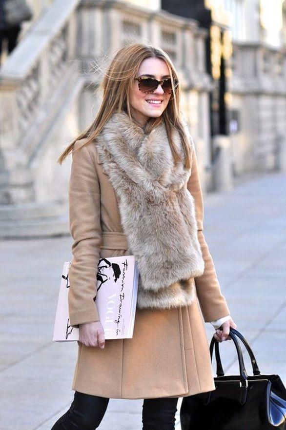 Το γουνάκι είναι το απόλυτο αξεσουάρ του χειμώνα - Πως να το φορέσεις (pics)