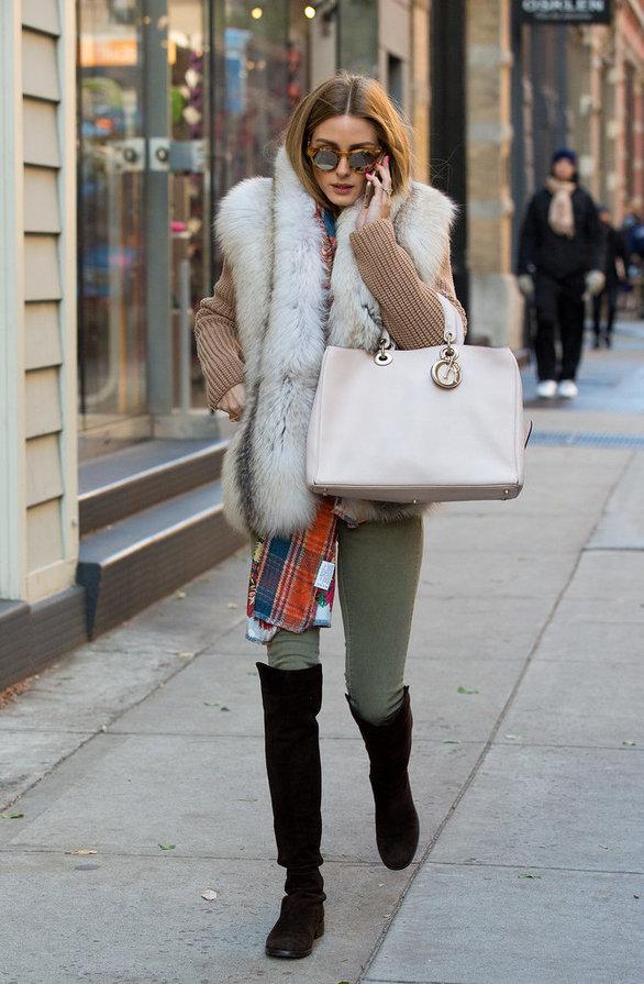 Το γουνάκι είναι το απόλυτο αξεσουάρ του χειμώνα - Πως να το φορέσεις  (pics) ... 4f546d09e25
