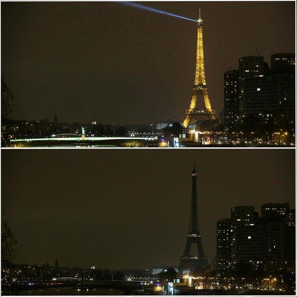 Όταν τα φώτα έσβησαν στα σπουδαιότερα αξιοθέατα! (pics+video)