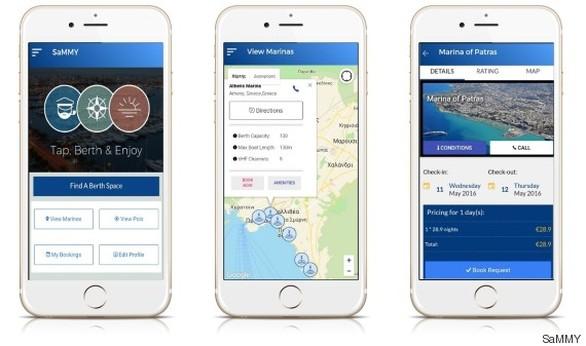 Η mobile εφαρμογή που συνδέει τα σκάφη με τις μαρίνες, ξεκινά από την Πάτρα (pics)