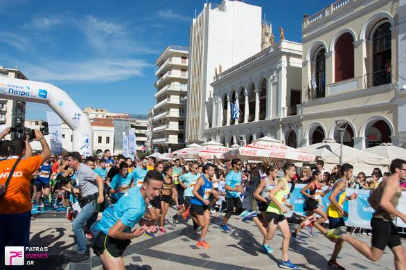 Εκατοντάδες κόσμου στο Run Greece της Πάτρας - Δείτε φωτογραφίες