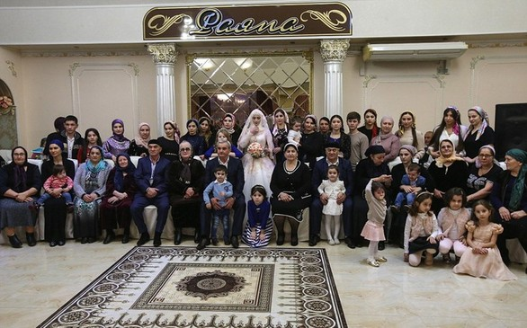 Τσετσενικός γάμος - Εντυπωσιακές φωτογραφίες από την παραδοσιακή τελετή!