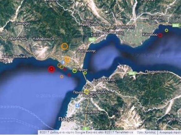 Πάτρα: Νέος δυνατός σεισμός αναστάτωσε την πόλη!