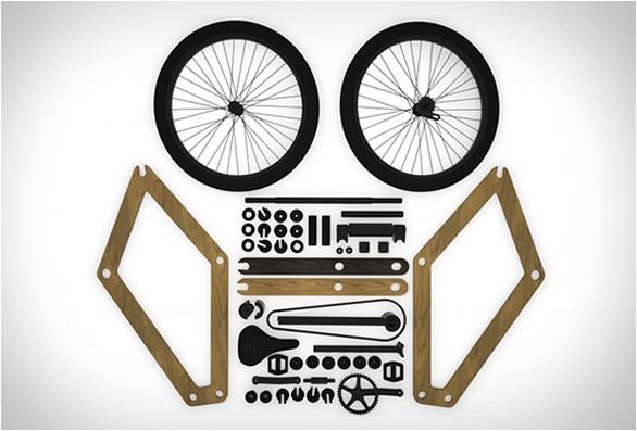 Sandwich bike: Το συναρμολογούμενο ξύλινο ποδήλατο (pics+video)