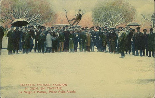 Σπάνιες φωτό - Χιόνια στην Πάτρα το 1907!