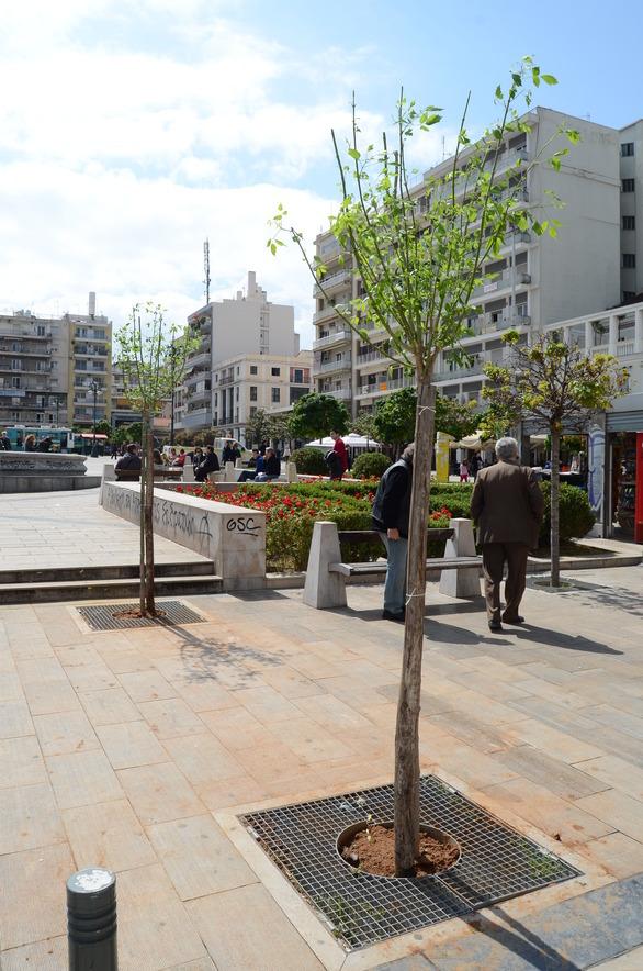 Πάτρα: Τι απέγιναν άραγε εκείνα τα «συντριβανάκια» στην Πλατεία Γεωργίου;