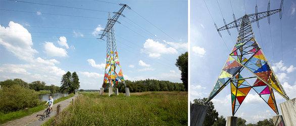 Πυλώνες ηλεκτρισμού γίνονται…  έργα τέχνης (pics)