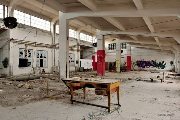 """Το παλιό εγκαταλελειμμένο εργοστάσιο του Λαδόπουλου """"διδάσκει"""" την ιστορία της Πάτρας!"""