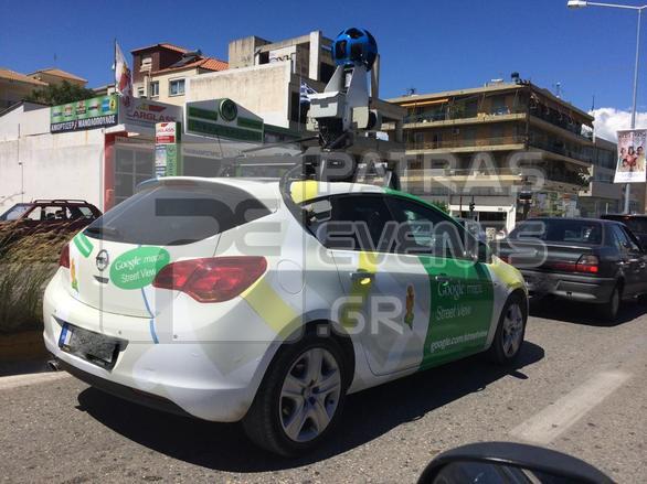 """Πάτρα: Tο αυτοκίνητο """"κατάσκοπος"""" της Google """"σκανάρει"""" τη περιοχή μας! (pics)"""