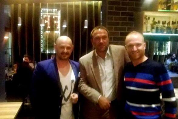 Στην Ρήγα Φεραίου ο Πέτρος Κόκκαλης (εκ των Ολυμπιακών) με γνωστούς Πατρινούς επιχειρηματίες!