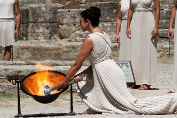 Ανάβει σήμερα στην Αρχαία Ολυμπία η Φλόγα για τους Ολυμπιακούς αγώνες του Ρίο