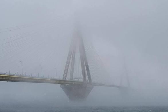 Πάτρα: Ένα περίεργο φαινόμενο στην Γέφυρα Ρίου - Αντιρρίου (video)