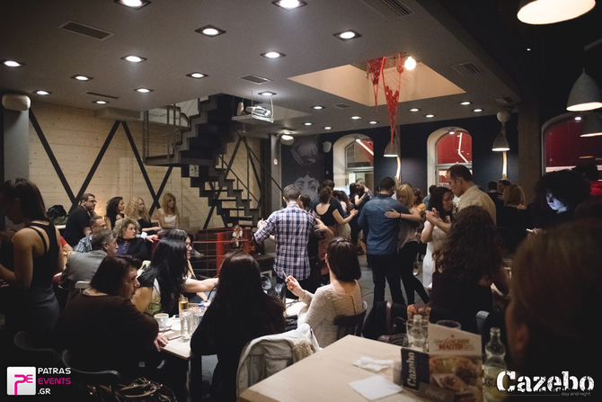 Practilonga Dominguera at Cazebo Bar - Cafe 22-11-15