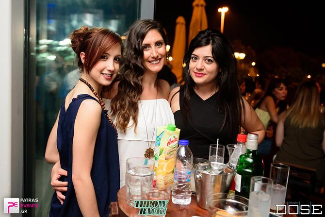 Throw Back - Summer Edition στο Dose Cafe Bar 22-06-16