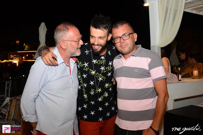 Παντελής Καστανίδης live στο Me Gusta 24-07-16