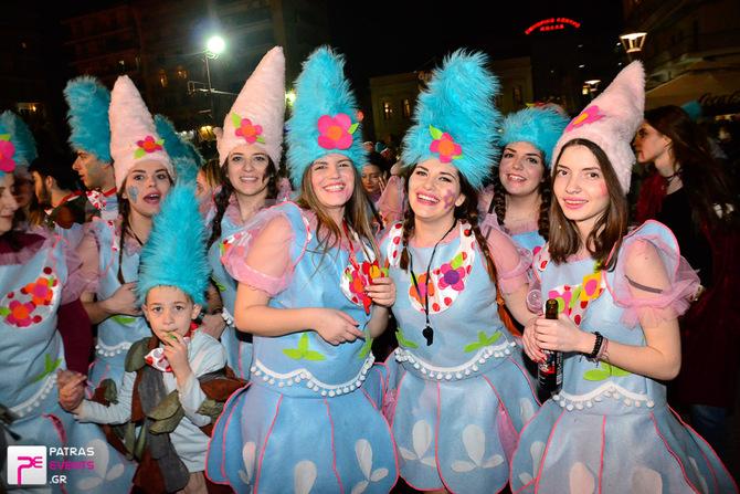Group 8: Carnival Trolls - Βραδινή παρέλαση 25-02-17