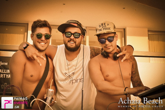 Pool Party by Alter Ego with Heavy Pins @ Airotel Achaia Beach 20-07-14 Part 2/3