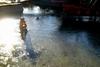 Αίγιο: Πάγωσε η λιμνούλα του χριστουγεννιάτικου πάρκου στο Δημοτικό Κήπο