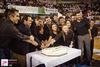 Πάτρα: Καταχειροκροτήθηκε το Χορευτικό Τμήμα του Δήμου στην κοπή της πρωτοχρονιάτικης πίτας του (pics+video)