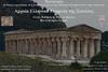 Ομιλία με θέμα 'Αρχαία Ελληνικά Μνημεία της Σικελίας' στην Αίθουσα Διακιδείου Σχολής Λαού