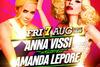 Άννα Βίσση & Amanda Lepore Live at Monarch Mykonos