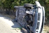 Πάτρα: Αυτοκίνητο ντελαπάρισε στα Συχαινά