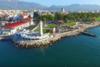 O Φάρος και ο Πελεκάνος στην παραλιακή ζώνη της Πάτρας από… drone (video)