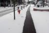 Στο Καρπενήσι το πρωτοποριακό πεζοδρόμιο που... λιώνει το χιόνι (pics)