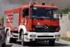 Πάτρα: Σταθμευμένο όχημα της ΔΕΗ τυλίχθηκε στις φλόγες