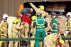 Η διάσωση ενός εργάτη που είχε θαφτεί κάτω από τόνους τυριού (pics+video)