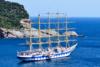 Το μεγαλύτερο ιστιοφόρο του κόσμου στο λιμάνι της Σκοπέλου (pics)